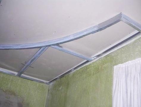 Как сделать потолок из гипсокартона в ванной своими руками